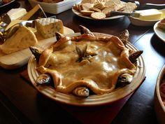 Stargazy pie - I like mackerel but this never looks appetising