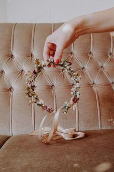 Handmade with love in Vienna. Flower Crown, Headpiece, Berries, Sparkle, Wreaths, Seasons, Autumn, Handmade, Collection