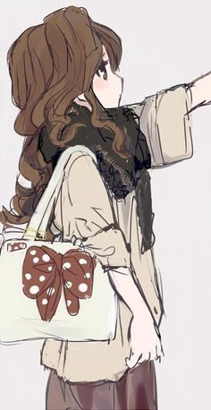 So kawaii! Anime Chibi, Manga Anime, Manga Girl, Art Kawaii, Kawaii Anime Girl, Anime Girls, Anime Love, Awesome Anime, Otaku
