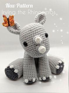 Crochet Dinosaur Patterns, Crochet Giraffe Pattern, Crochet Patterns Amigurumi, Crochet Dolls, Softie Pattern, Crochet Octopus, Cute Crochet, Crochet Crafts, Yarn Crafts
