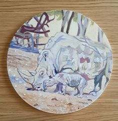 """Landscape painting """"Ruvi"""", painted by Roee Lavan for the homage of The President of Israel, Reuven """"Ruvi"""" Rivlin, and will be displayed in the International Arts and Crafts fair in Jerusalem, 2021. President Of Israel, Jerusalem, Craft Fairs, Landscape Paintings, Arts And Crafts, Objects, Display, Design, Floor Space"""