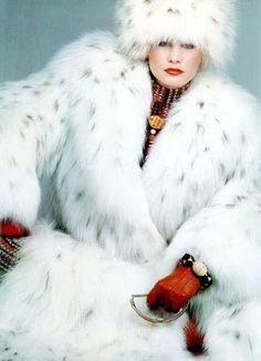 The perfect lynx coat