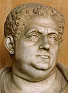 Titus was the 10th emperor of Rome. His short reign was notable for the eruption of Vesuvius in 79 AD and the opening of the Colosseum in 80 AD.    Titus Flavius Vespasianus was born in Rome on 30 December 39 AD, the elder son of the future Emperor Vespasian. He was brought up in the court of Emperor Claudius as a companion to the emperor's son, Britannicus. Titus enjoyed a successful military career and in 67 AD went with his father to suppress the Jewish Revolt.