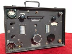 TORN EB  WWII RADIO RECEIVER EMPFANGER TORNISTER E B TELEFUNKEN WW2 DONKEY