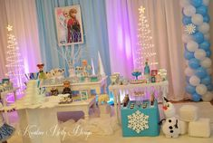Disney Frozen Birthday Party Ideas | Photo 2 of 13 | Catch My Party