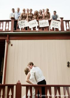 This would be a cute shot to take at church - Balcony