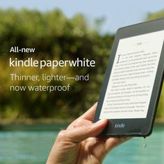 Our thinnest, lightest Kindle Paperwhite yet, with a sleek, modern design so you can read comfortably for hours. The Kindle Paperwhite is a waterproof e-book reader with a glare-free display and built-in adjustable light. E Book Reader, Wi Fi, Amazon Kindle, Kindle App, Poses Manga, Bon Point, Fire Tablet, Advertising And Promotion, Karaoke