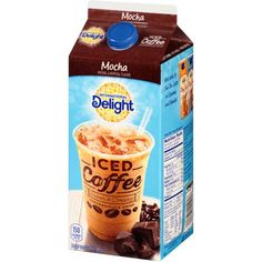 International Delight, Mocha Iced Coffee, Half Gallon Image 7 of 8 Coffee Creamer, Iced Coffee, Coffee Cans, Iced Mocha, Single Serve Coffee, Beverages, Drinks, Perfect Cup, Sugar Free