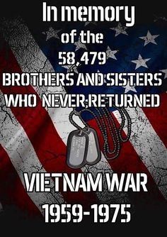 The number of Vietnam War personnel who never returned home, seems like an anagram of a figure I obtained through a theological equation. Military Quotes, Military Love, Military Pictures, Military Service, I Love America, God Bless America, Vietnam Veterans, Vietnam War, Us Navy