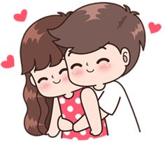 Parejas Sticker - Boobib Cute Couple Stickers Clipart is best quality and high resolution which can be used personally or non-commercially. Cute Chibi Couple, Love Cartoon Couple, Cute Couple Comics, Cute Couple Art, Cute Love Cartoons, Anime Love Couple, Cute Anime Couples, Cute Love Pictures, Cute Cartoon Pictures
