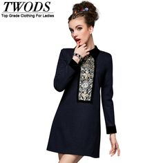 S- 5xl Autumn Winter Wool Dress Beading Epaulet Casual Long Sleeve Mini Just look, that`s outstanding! http://www.artifashion.net/product/s-5xl-autumn-winter-wool-dress-beading-epaulet-casual-long-sleeve-mini/ #shop #beauty #Woman's fashion #Products