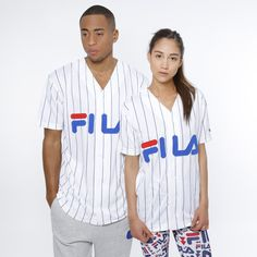T-Shirt - King Baseball Fila Bright White