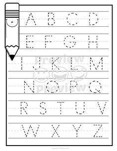 Alphabet Practice Worksheets, Number Practice Worksheets, Handwriting Practice, ABC Tracing Worksheets, Number Tracing - Home Decorations Best Alphabet Tracing Worksheets, Printable Preschool Worksheets, Alphabet Writing, Preschool Writing, Numbers Preschool, Kindergarten Math Worksheets, Preschool Learning Activities, Alphabet Worksheets, Preschool Alphabet