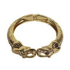 Gold Elephant Bangle - Furbish Studio