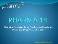 Pharma14 is a proprietary search tool and database created in a joint effort by pharmaceutical industry professionals, big data and digital marketing veterans.\nThe idea behind Pharma14 was to create a database tool that is needed by many professionals in the pharmaceutical market. Current database tools on the market are priced out of reach for most companies.\nWe have created a top notch application affordable to all.\nAll out data is gathered from free and open sources. It is updated on…