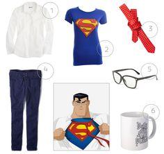 Easy Halloween Superhero Costumes.