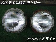 【中古】スズキDC51Tキャリートラック左右ヘッドライト丸型