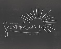 Sunshine Overlay by Type & Timber on Creative Market - Sun Tattoos, Dream Tattoos, Future Tattoos, Small Tattoos, Sleeve Tattoos, Tatoos, Celtic Tattoos, Sunshine Logo, Sunshine Tattoos