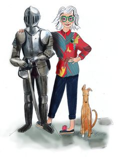 Charlotte Linton: Ermantrude's Travels, Suit of Armour