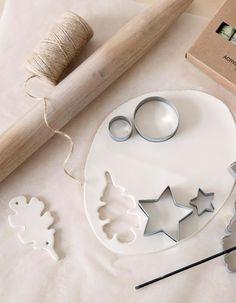 Viria, Art School, Ceramic Art, Napkin Rings, Ornament, Christmas Decorations, Ceramics, Crafts, Christmas