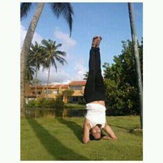 Hace un año puse todo mi empeño en lograr hacer Sirsasana. Un regalo para mi.  Aprendí durante el proceso: disciplina amor por lo que se hace humildad paciencia gentileza con una misma consciencia perseverancia y creer que si podemos lograr todo aquello en lo que nos enfocamos.  El equilibrio entre cuerpo y mente es un proceso consciente.  Namaste.  #asana #yoga #sirsasana #yogalover #sirsasanapose #yogapractice #iloveyoga #yogalove #equilibrio #igersyoga #equilibrium #inpiration #love #joy…