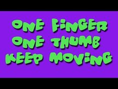 One Finger One Thumb Keep Moving, is a great movement song that also teaches body parts, listening skills and following directions. This song is performed in a sitting position making it ideal for a quick brain break for students sitting in their chairs. It's also perfect for group activities and indoor recess.