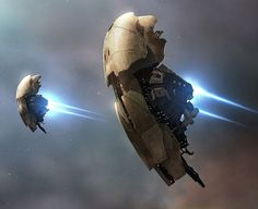 "looks like a giant shield. ""Mentor Battle cruiser by Alexy M for EVE Online"""