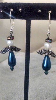 Check out this item in my Etsy shop https://www.etsy.com/listing/207382092/handmade-christmas-angel-earrings-with