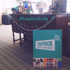 Soapbox Suite at Megaphone16 blog conference. (Sponsored)