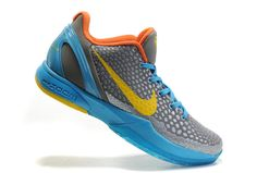 huge selection of ed42d 7c179 Nike Zoom Kobe 6 (VI) Helicopter Dark Glass Blue