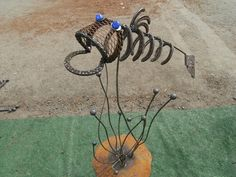 "Visit our website for even more info on ""metal art - Mexican Metal Yard Art Horseshoe Projects, Horseshoe Crafts, Horseshoe Art, Metal Projects, Metal Crafts, Art Projects, Welding Projects, Welding Ideas, Metal Yard Art"