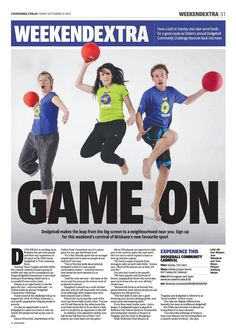 Dodgeball for Charity - Raising money for @oxfamaustralia Eat Local Feed Global.