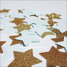 Your star theme baby shower or first birthday party will sparkle with blue and…