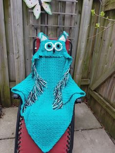 Owl blanket Owl Blanket, Crochet, Crochet Crop Top, Chrochet, Crocheting, Knits, Hooks, Hand Crochet, Ganchillo