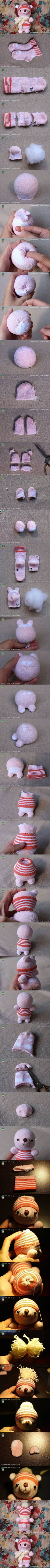 DIY Sock Doll Winnies DIY Projects