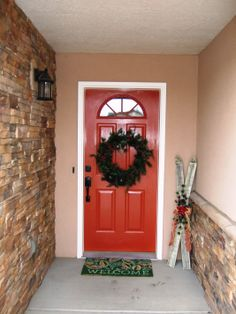 We painted our door an unusual color! It is called picante. Something To Do, Doors, Painting, Home Decor, Homemade Home Decor, Painting Art, Paintings, Paint, Draw