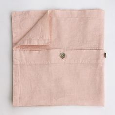 Linen pillowcase in light pink Natural Materials, Pillow Cases, Towel, Relax, Bedroom, Pink, Bedrooms, Pink Hair, Roses