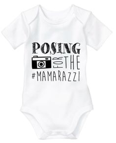 Posing for the mamarazzi  -  KIDOOZ | For monochrome kids