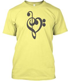 Music Gift Ideas T Shirt 2017 Lemon Yellow  áo T-Shirt Front