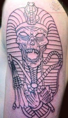 Mummy Egyptian Tattoo