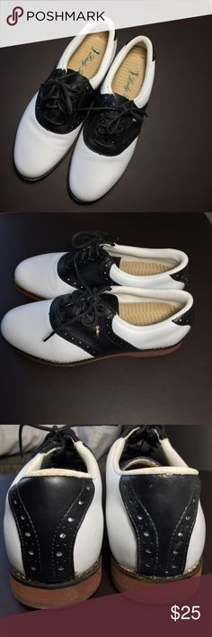 Ralph Lauren golf shoes woman size 7.5 New without tag! Very nice golf shoes. Ralph Lauren Shoes Athletic Shoes