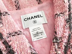 Authentic Chanel Jacket at prices up to off Retail. Chanel Jacket Trims, Chanel Fashion Show, Crochet Jacket, Vintage Chanel, Embroidered Lace, Fashion Details, Wraps, Sugar, Blazer
