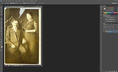 How to Restore Old, Damaged Photos - Digital Photography School » Post Production Tips