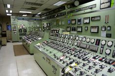 coal power plant control room - Google Search