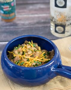 Instant Pot Vegan Mac 'n Cheese with Soy Curls