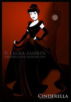 Cinderella [as a vampire] (As Monsters by ClaireBeauChamp @deviantART) #Cinderella
