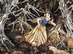 Snow White and the Seven Dwarfs (1937) | 50 Beautiful Pieces Of Concept Art From Classic Disney Movies