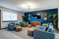 Relax with your fellow residents in our Clubhouse. #Amenities #TX #Apartments #AlturasAndrews One Bedroom Apartment, Apartments, Relax, Colors, House, Home, Colour, Color, Homes
