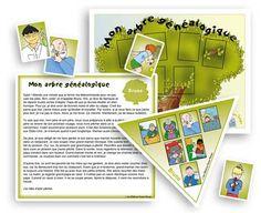 Mon arbre généalogique - Jeux éducatifs - Les Éditions Passe-Temps