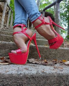 Sexy Legs And Heels, Hot Heels, High Heels Stilettos, Strappy Heels, Beautiful High Heels, Gorgeous Feet, Extreme High Heels, Killer Heels, Platform High Heels